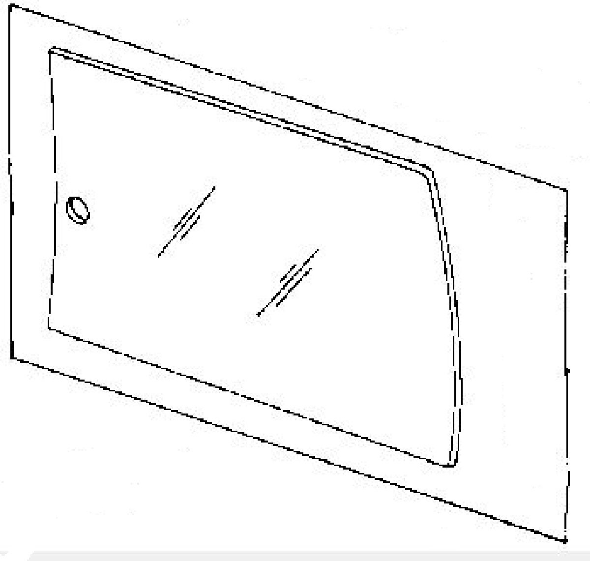 1990 pontiac 6000 door panel removal instructions window