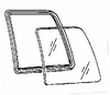 DIY Side Glass Driver Side Ford Aerostar Cargo Van 1986 1987-1997