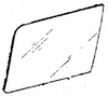 DIY Front Side Glass Driver Side Isuzu Trooper II Utility 1984-1989