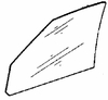 DIY Front Door Glass Passenger Side Dodge Colt Vista 1985-1991