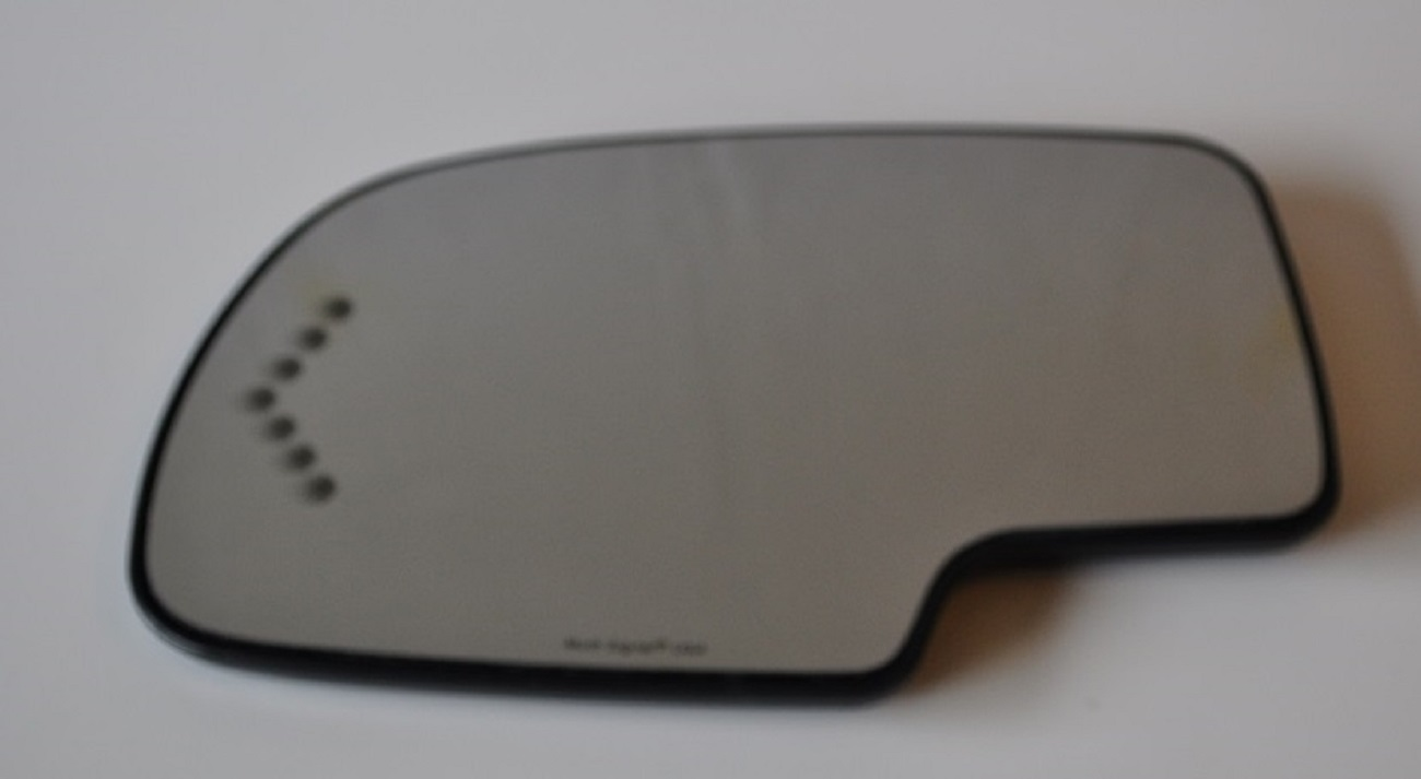 Gmc Sierra 3500 C3500 2007 Driver Side Heated Signal Mirror Glass