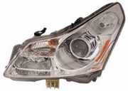 Infiniti M37 2011 2012 2013 Driver Side Headlight