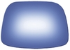Nissan 280ZX 1983 Passenger Side Mirror Glass Blue