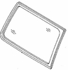 DIY Quarter Glass Passenger Side Mitsubishi Montero Utility 1992-2000