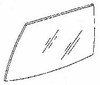 DIY Rear Door Glass Driver Side Buick Century Sedan 1982-1985