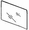 DIY Front Door Glass Passenger Side Geo Spectrum Sedan 1985-1989