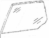 DIY Rear Door Glass Driver Side Plymouth Colt Station Wagon 1988-1990