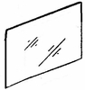 DIY Rear Door Glass Driver Side Geo Spectrum 4 Door Sedan 1985-1989