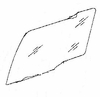 DIY Rear Front Glass Driver Side Plymouth Acclaim  Sedan 1989-1994