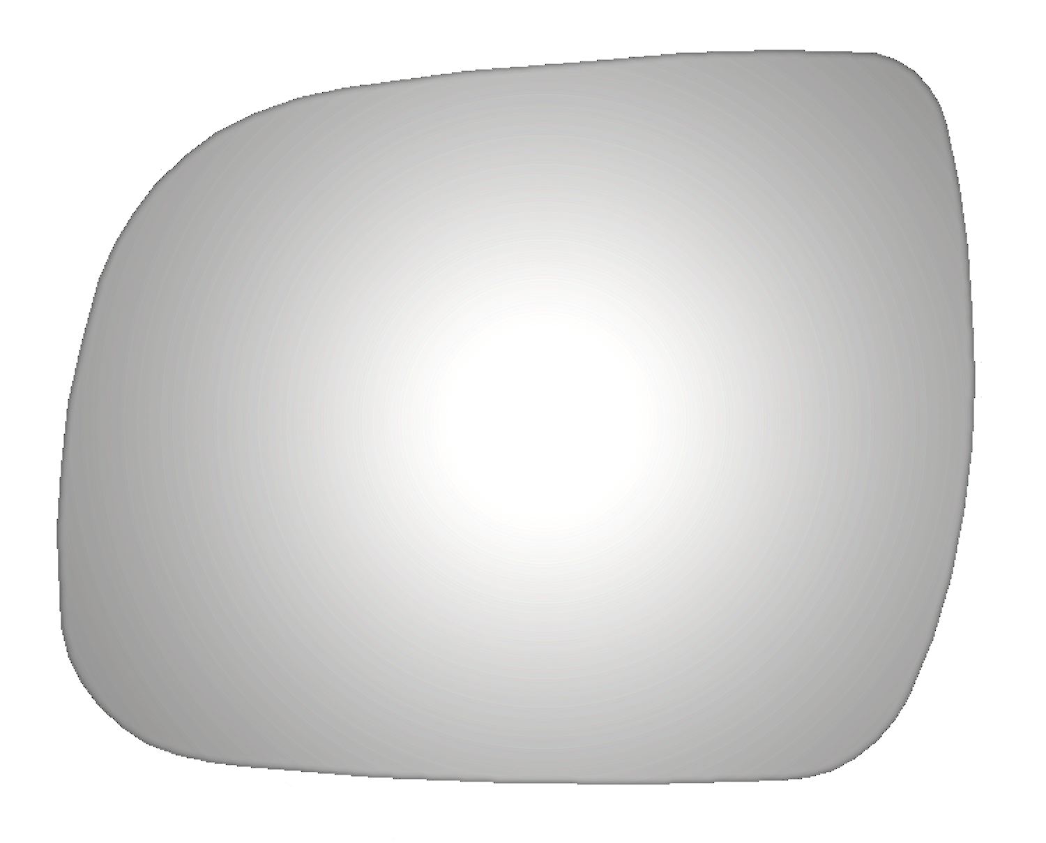 Toyota Tacoma 2012 2013 2014 Driver Side Mirror Glass