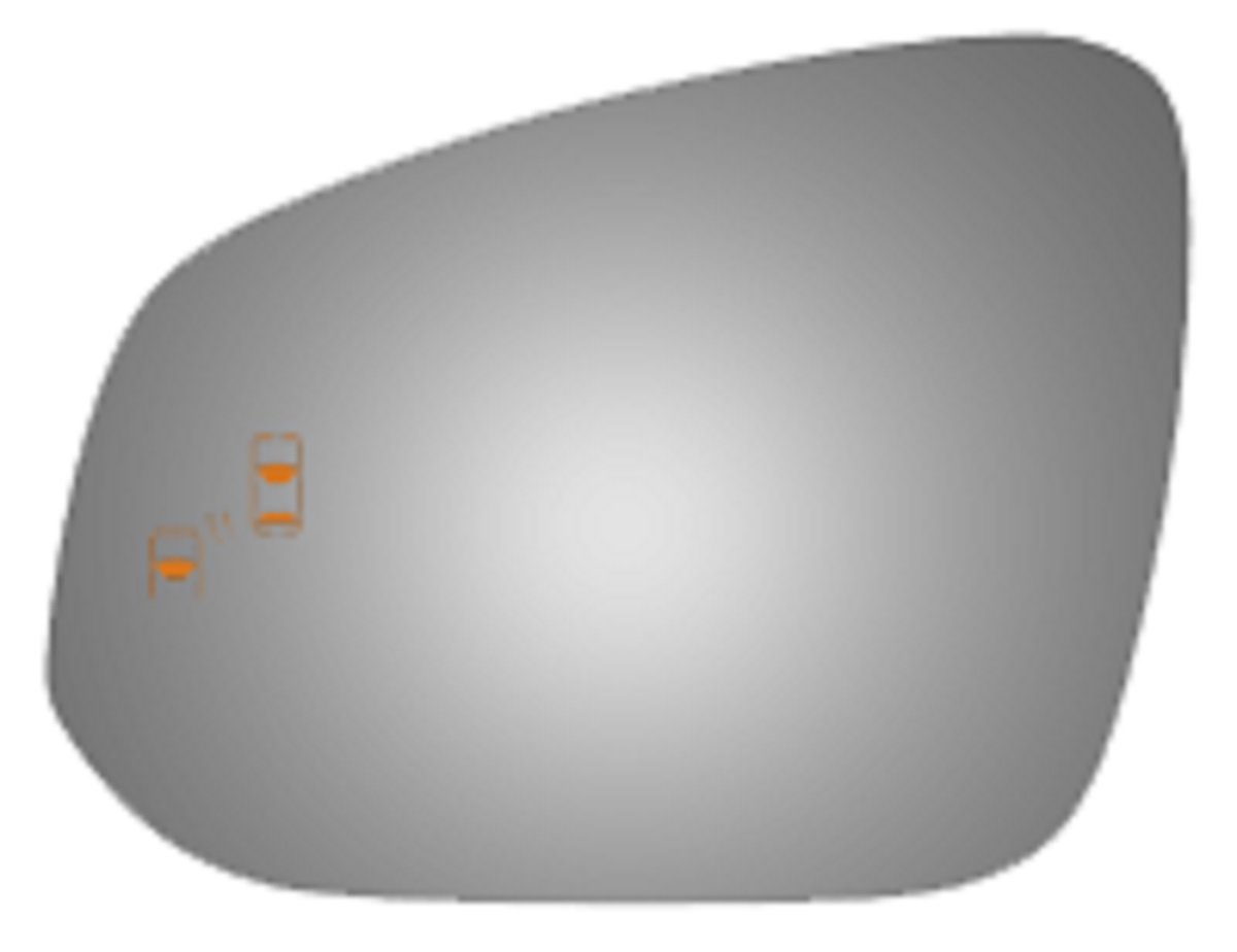 Toyota Tacoma 2017 Driver Side Mirror Glass