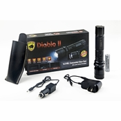 Diablo II Tatical Stun Flashlight  5 Million Volts by Guard Dog Security