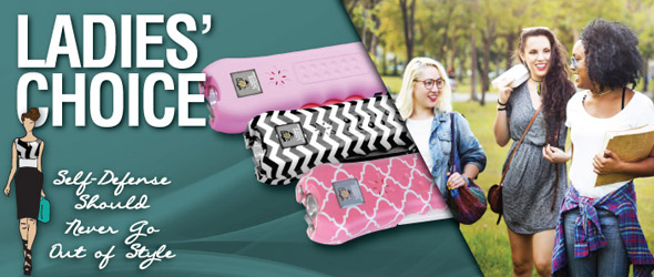Streetwise Ladies Choice Stun Gun For Women With Personal Alarm