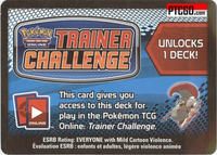 BW3 FURIOUS KNIGHTS Noble Victors Pokemon Online Trainer Challenge Theme Deck Code - DELIVERED BY EMAIL