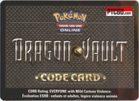 DRAGON VAULT POKEMON ONLINE CODE - Delivered by Email - 3 Pokemon Dragon Vault Online Packs and 1 of 5 Promo Cards in ONE CODE - IN STOCK NOW