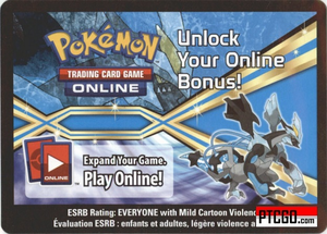 BW62 BLACK KYUREM EX POKEMON ONLINE PROMO CARD CODE - Black Kyurem EX Promo Card BW62 and a Meloetta Promo Card for your Pokemon Online Account - Delivered by Email - IN STOCK NOW