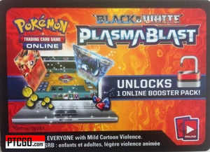 POKEMON BW10 PLASMA BLAST ONLINE BOOSTER PACK CODE - Delivered Super Fast By Email - Redeem this code for ONE POKEMON PLASMA BLAST ONLINE POKEMON VIRTUAL PACK OF 10 POKEMON CARDS