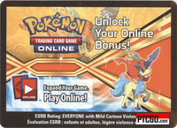 BW61 KELDEO EX POKEMON ONLINE PROMO CARD - Keldeo EX Promo Card BW61 and a Meloetta Promo Card for your Pokemon Online Account - Delivered by Email - IN STOCK NOW