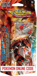 XY05 EARTH'S PULSE POKEMON X & Y PRIMAL CLASH STARTER THEME DECK CODE - X&Y Starter Theme Deck Code for your Pokemon Online Account - Delivered by Email