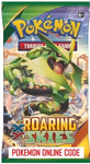 POKEMON XY06 X&Y ROARING SKIES SET ONLINE BOOSTER PACK CODE - Delivered Super Fast By Email - Redeem this code for ONE POKEMON X & Y ROARING SKIES EXPANSION SET ONLINE POKEMON VIRTUAL PACK OF 10 POKEMON CARDS