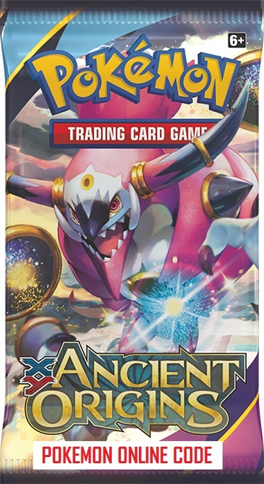 POKEMON XY07 X&Y ANCIENT ORIGINS SET ONLINE BOOSTER PACK CODE - Delivered  Super Fast By Email - Redeem this code for ONE POKEMON X & Y ANCIENT  ORIGINS