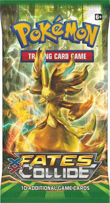 POKEMON XY10 X&Y FATES COLLIDE SET ONLINE BOOSTER PACK CODE - Delivered Super Fast By Email - Redeem this code for ONE POKEMON X & Y FATES COLLIDE EXPANSION SET ONLINE POKEMON VIRTUAL PACK OF 10 POKEMON CARDS