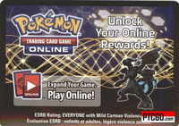 BW38 ZEKROM EX POKEMON ONLINE PROMO CARD CODE - Zekrom EX Promo Card BW38 for your Pokemon Online Account - Delivered by Email - IN STOCK NOW