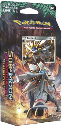 SM02 STEEL SUN Sun Moon Guardians Rising Online Theme Deck Code featuring SOLGALEO