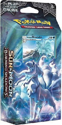 SM03 LUMINOUS FROST Sun Moon Burning Shadows Online Theme Deck Code featuring NINETAILS