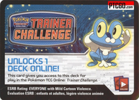 XY FROAKIE POKEMON KALOS STARTER THEME DECK CODE - XY Kalos Froakie Starter Theme Deck Code for your Pokemon Online Account - Delivered by Email