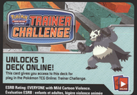 XY03 DARK HAMMER POKEMON X & Y FURIOUS FIST STARTER THEME DECK CODE - X&Y PANGORO Starter Theme Deck Code for your Pokemon Online Account - Delivered by Email - IN STOCK NOW