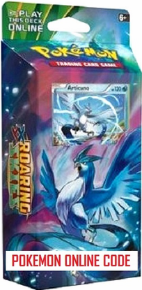 XY06 AURORA BLAST POKEMON X & Y ROARING SKIES STARTER THEME DECK CODE - X&Y Starter Theme Deck Code for your Pokemon Online Account - Delivered by Email
