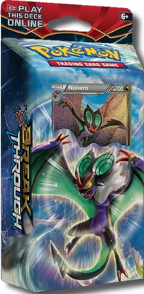 XY08 NIGHT STRIKER POKEMON X & Y BREAKthrough STARTER THEME DECK CODE - X&Y Starter Theme Deck Code for your Pokemon Online Account - Delivered by Email
