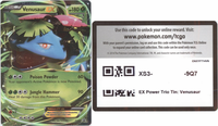 XY28 VENUSAUR EX POKEMON ONLINE PROMO CARD CODE - Venusaur EX Promo Card XY28 for your Pokemon Online Account - Delivered by Email - IN STOCK NOW