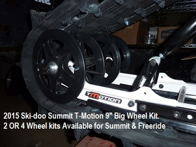 "9"" Big Wheel Kits  for Summit & Freeride & REV GEN4 Chassis"