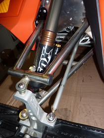 Fox Float Front EVOL R Shock Package, SLP Spindles, A.I. Titanium A-Arms, HRSS Ti Bolt KIT