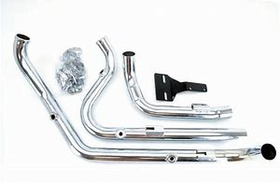 FREEDOM PERFORMANCE TUCK & UNDER HEAD PIPE FOR 2009-16 HARLEY DRESSER AND ROADKING
