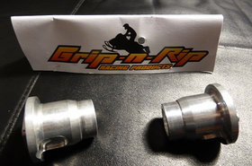 Grip-N-Rip Billet Ski-doo Axle Spacer Set