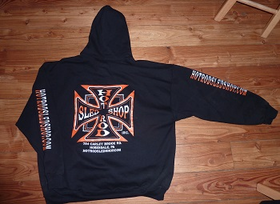 Hot Rod Sled SHop Inc. Hoody's - Orange/Black