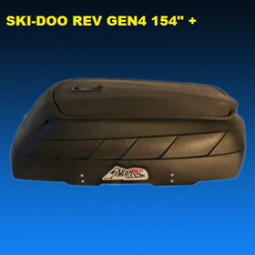 "Powderkeg LLC G4300B Dry Storage Box for Ski-doo REV GEN4 154"" + Summits"