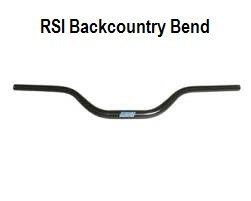 RSI Backcountry Bend Tapered Aluminum Handlebar