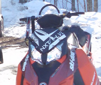 SKINZ - FLY RACING - NXT LVL - Ski-doo XS/XM Windshield Bag-White