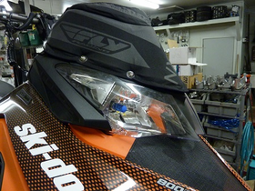 Skinz Next Level Windshield Bag, Brite Lites H4 Xenon Bulbs