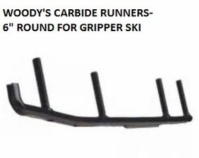 Woody's Carbide Runners/Skegs for Polaris Gripper Skis