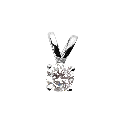 1.52 CT SI-2 G color Diamond Pendant