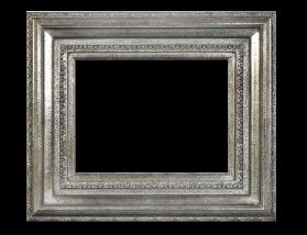 dfdc1194ea94 Art Picture Frames Oil Paintings Watercolors Frame Style. Mcdaniel Scoop  Design Antique Silver ...