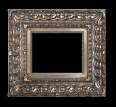 Art Picture Frames Oil Paintings Watercolors Frame Style 653 20x24 Silver Ornate