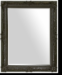 Ornate Mirror – Mirror Style #904 – 30x40 – High Gloss Espresso