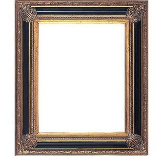 Picture Frames 11 X 14 Black Gold Picture Frames Frame Style