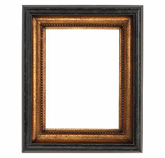 Picture Frames 12 X 16 Black Gold Picture Frames Frame Style